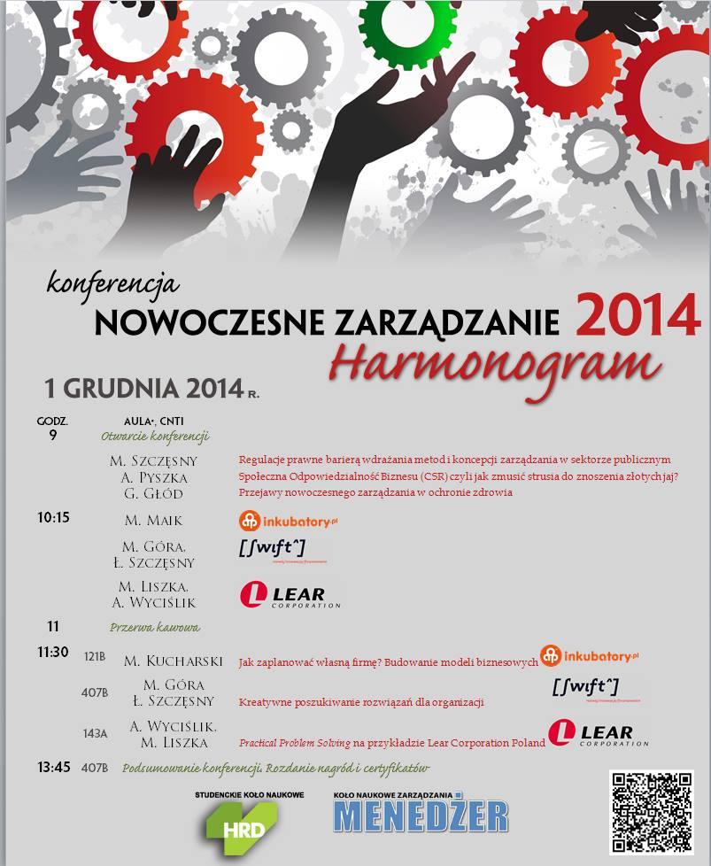 Nowoczesne zarządzanie 2014