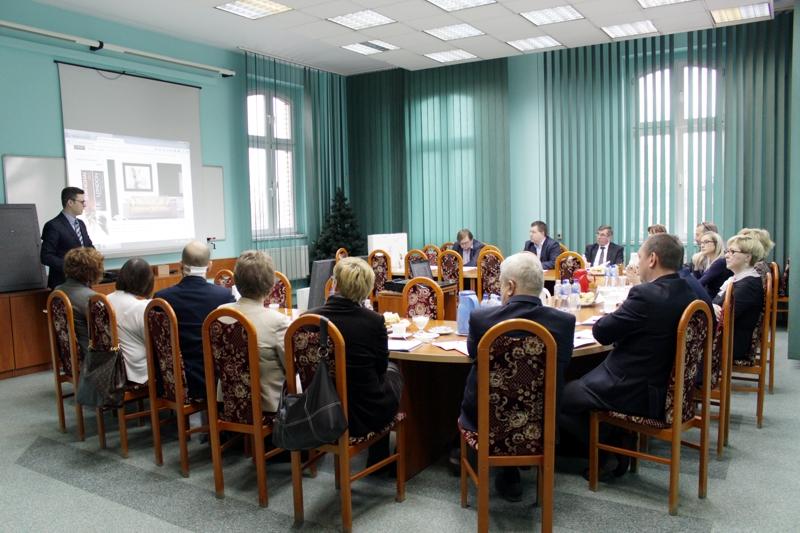 Obrady Kapituły Konkursu Zabrzański Biznesplan (zdjęcie pochodzi ze strony internetowej http://www.um.zabrze.pl/biznes/aktualnosci/zabrzanski-biznesplan-obrady-kapituly)